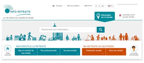 www.info-retraite.fr longue carrière