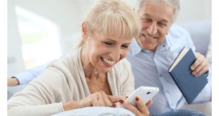 Application mobile personnes âgées