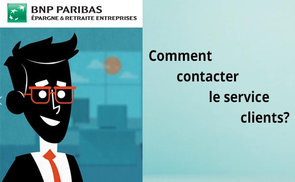BNP Paribas, BNP Paribas Epargne & Retraite Entreprises: Contact et assistance