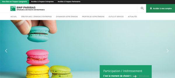 www.epargne-retraite-entreprises.bnpparibas.com mon compte