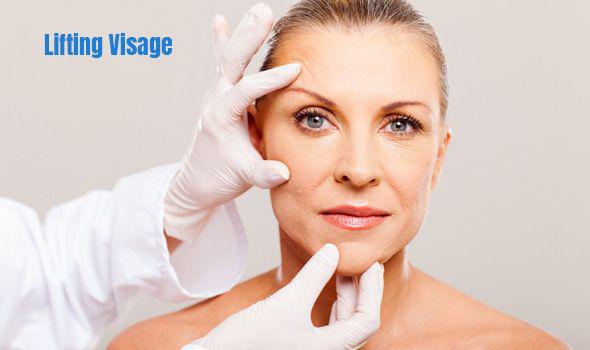 lifting cervico facial pour personnes agées