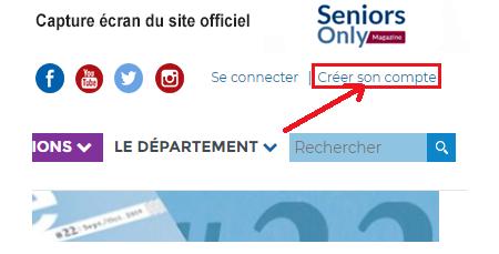 Créer mon compte utilisateur sur isere.fr
