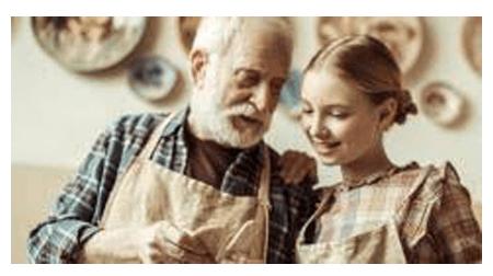 Activité manuelle pour personne âgée