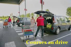 chercher ses courses au drive
