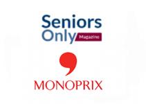 Monoprix panier senior