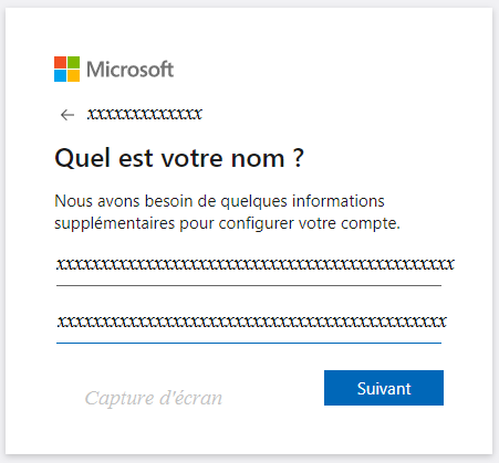 étapes d'inscription à skype.com