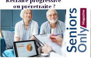 préretraite et retraite progressive