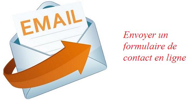 envoyer un formulaire de contact en ligne à Malakoff