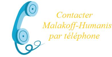 contacter malakoff Humanis par téléphone
