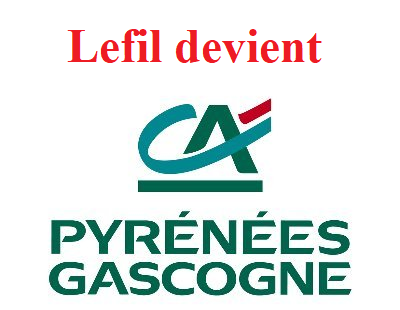 Lefil.com mon compte devient Crédit Agricole Pyrénées Gascogne
