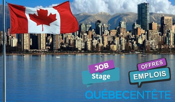 Québec en Tête offre d'emploi